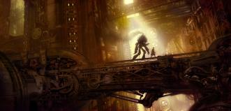 """Steampunk Bridge"" by TJ Frame"